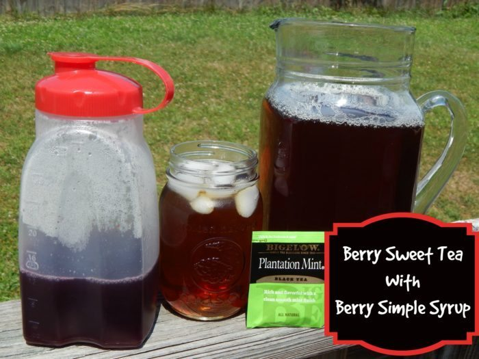 Berry Simple Syrup