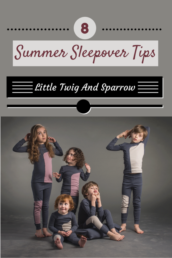 Little Twig And Sparrow: 8 Summer Sleepover Tips