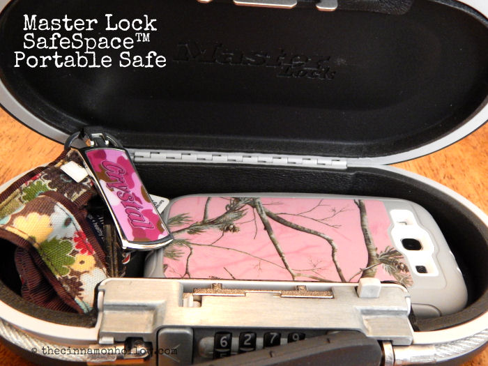 Master Lock SafeSpace Portable Space