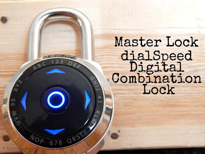 Master Lock dialSpeed Digital Combination Lock