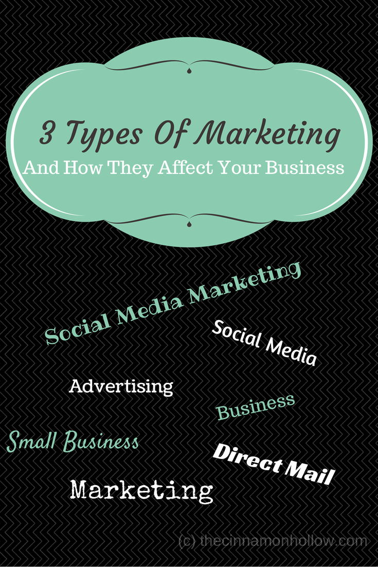 three types of marketing and how they affect your business