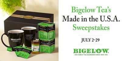 Bigelow Tea's Made in the U.S.A. Sweepstakes
