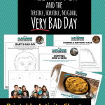 Alexander And The Terrible, Horrible, No Good, Very Bad Day Printable Activity Sheets