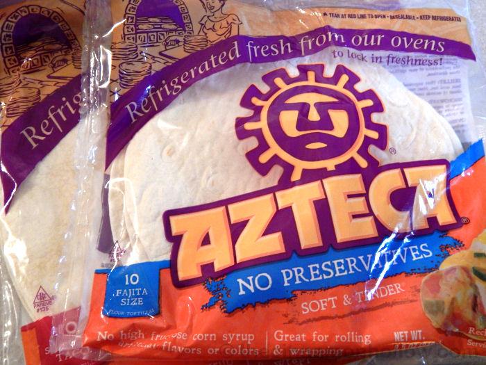 Azteca No Preserative Tortillas