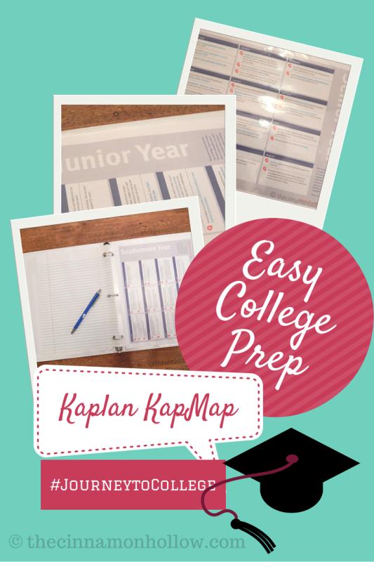 Easy College Prep With Kaplan KapMap #JourneytoCollege