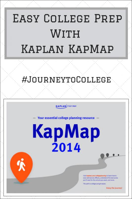 Easy College Prep With Kaplan KapMap
