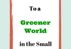 We Can Contribute To A Greener World