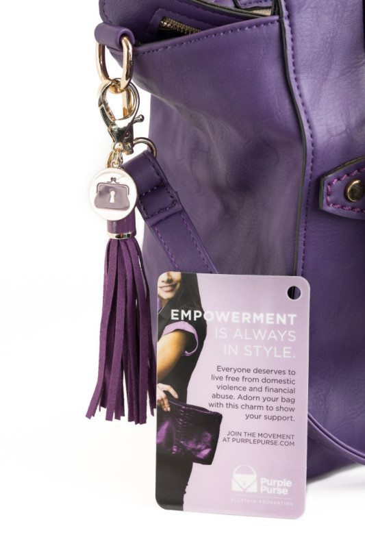 The Allstate Foundation Purple Purse Charm