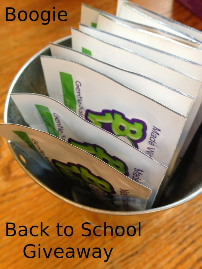 Enter To Win A Boogie Board And Boogie Wipes In The Boogie Back to School Giveaway! #MomsWhoBoogie