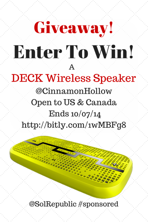 Enter The DECK SolRepublic Giveaway
