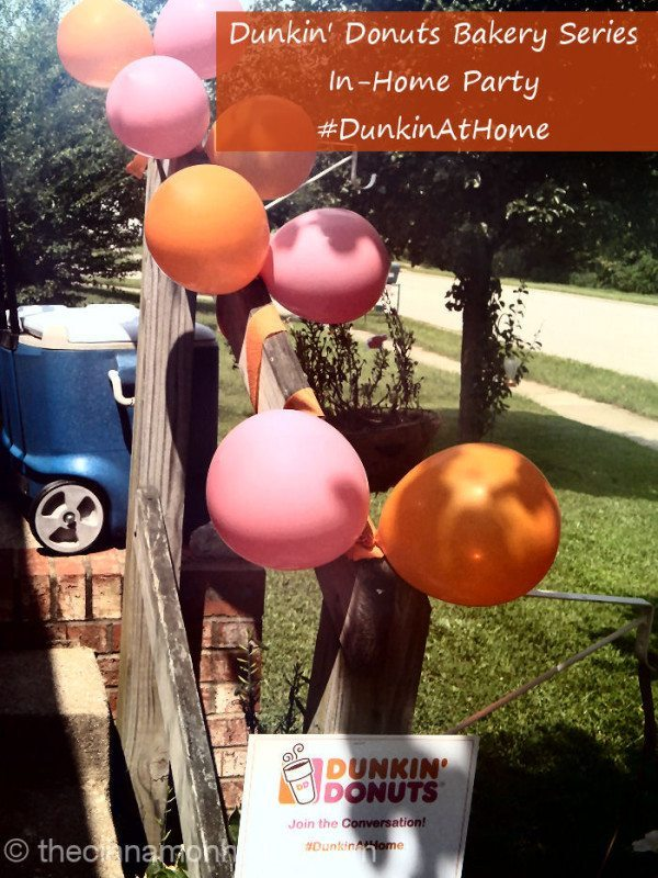 Dunkin Donuts At Home Party