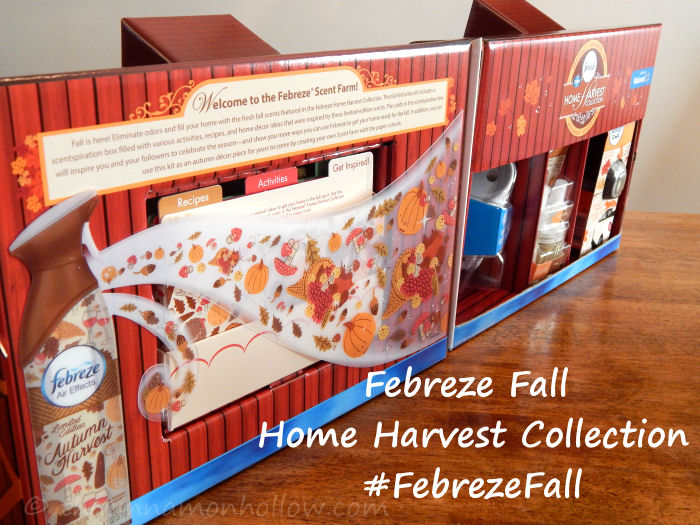 Welcome Fall With Febreze Home Harvest Collection #FebrezeFall