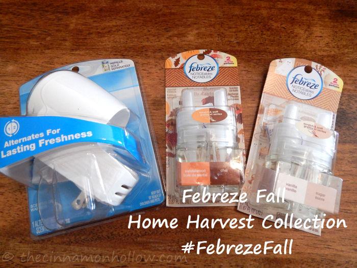 Febreze Home Harvest Collection: NOTICEables