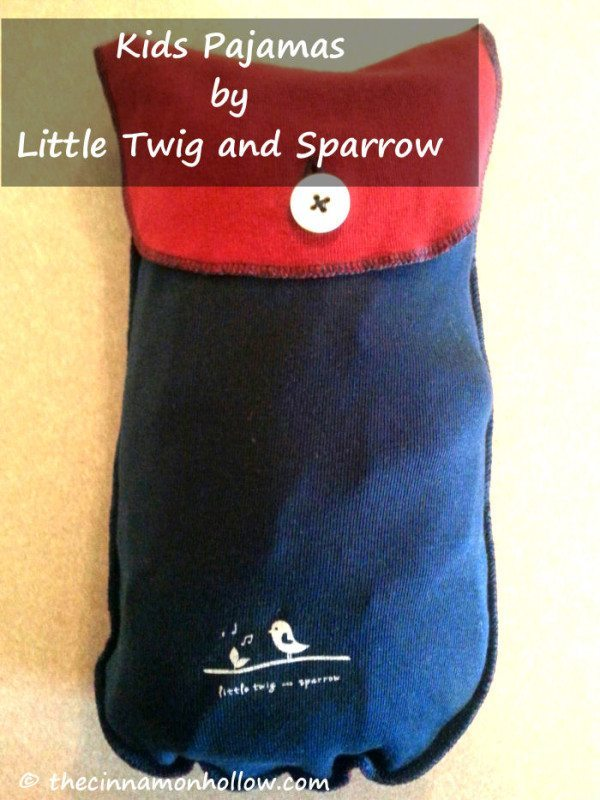 Little Twig and Sparrow Pajama Pouch