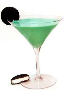 Chocolate Mint Kiss Featuring Van Gogh Vodka