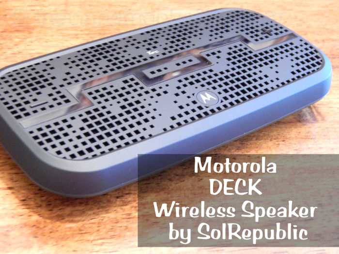 DECK Wireless Speaker