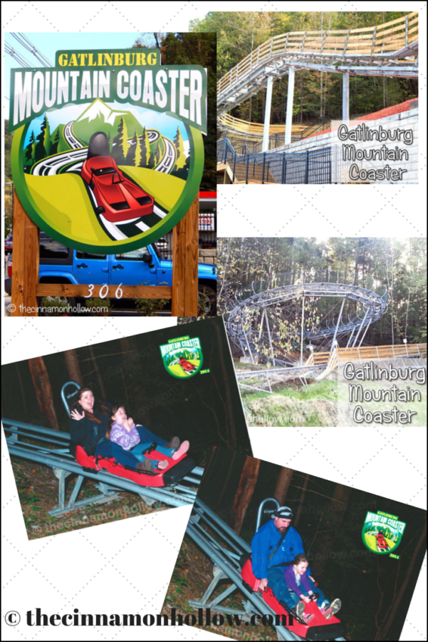 Gatlinburg Mountain Coaster. Fun For The Entire Family! #smokies