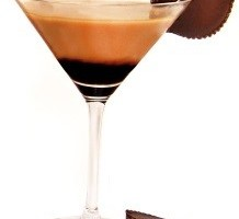 Peanut Butter Cup Martini featuring Van Gogh Vodka