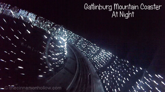 Gatlinburg Mountain Coaster After Dark