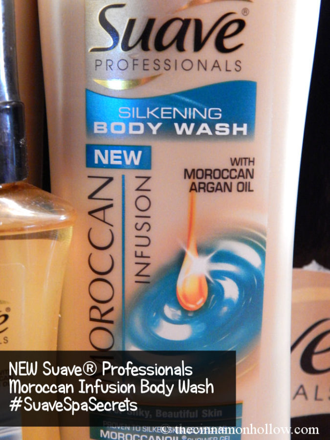 Suave Professionals Moroccan Infusion Body Wash