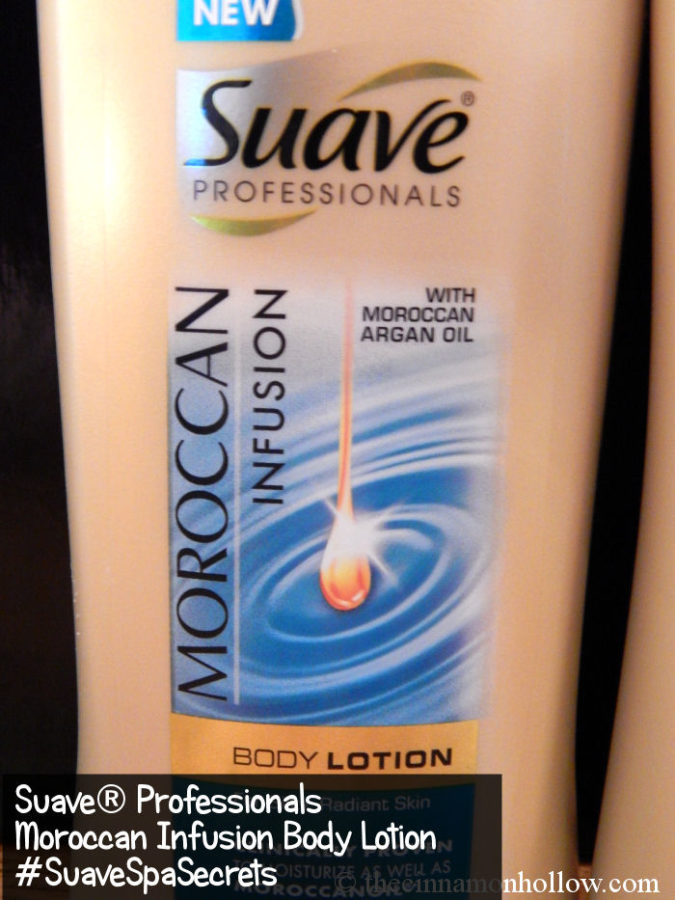 Suave Professionals Moroccan Infusion Body Lotion