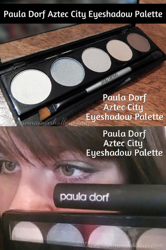 Paula Dorf Aztec City Eyeshadow Palette and Teal Mascara