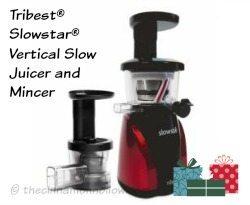Tribest® Slowstar® Vertical Slow Juicer and Mincer