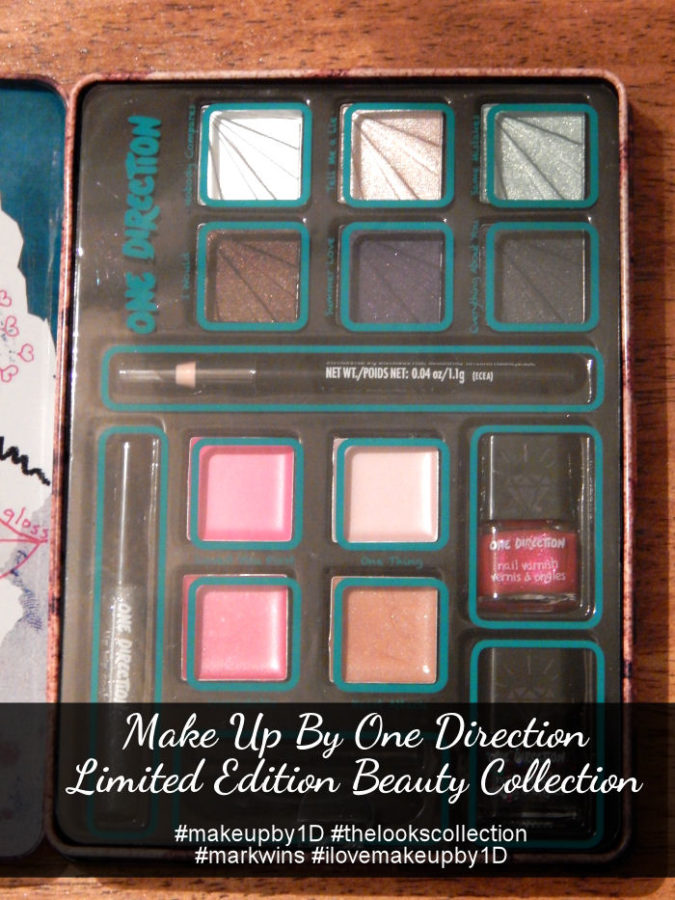 One Direction Makeup Limited Edition Beauty Collection Tins