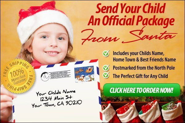 Give Your Kids Official Letters From Santa!