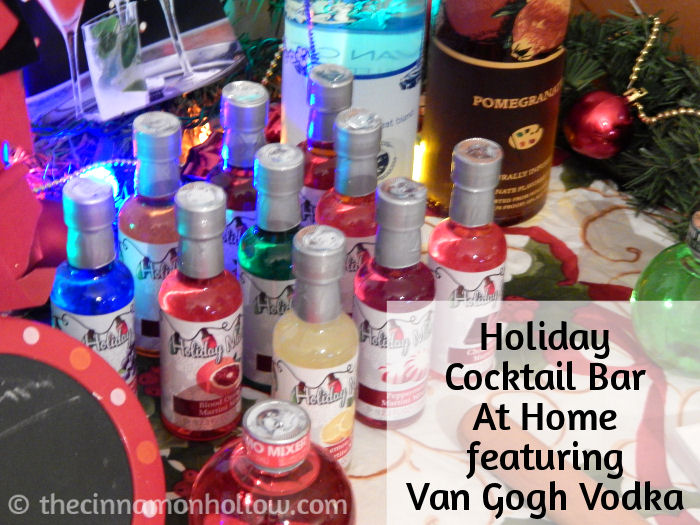 Holiday Cocktail Bar Mixers