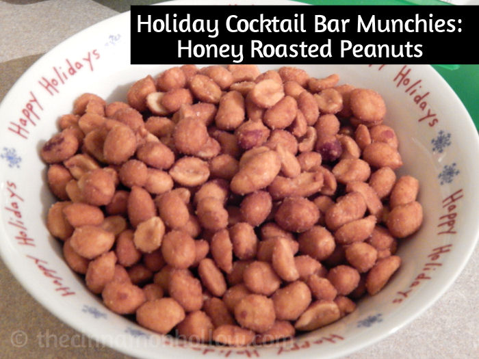 Holiday Cocktail Bar Peanuts
