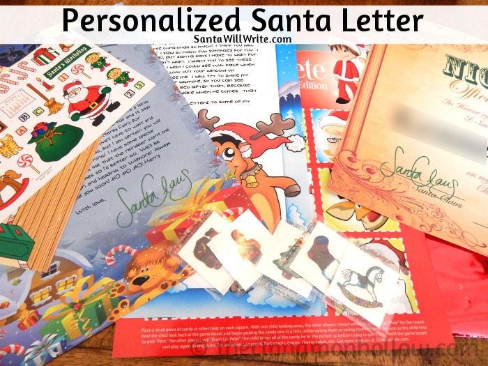 Personalized Santa Letter