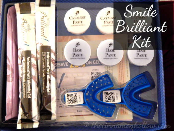 Whiter Smiles In The New Year! Smile Brilliant Giveaway!