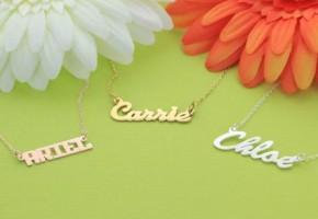 MonogramOnline Monogrammed Jewelry