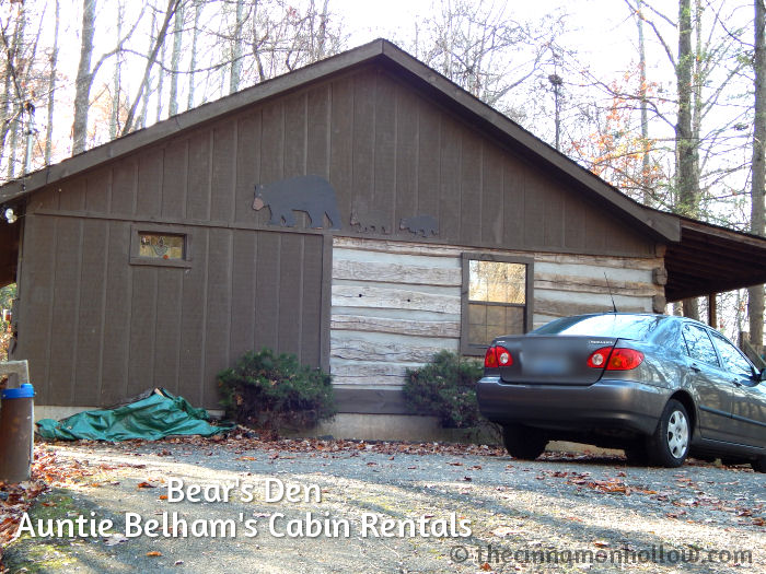 Anniversary Getaway At Auntie Belham's Cabin Rentals: Bear's Den @auntiebelhams