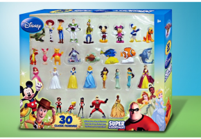 Disney 30 Piece Collectible Figurine Set Groupon