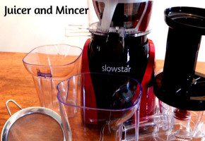 Tribest Slowstar Vertical Slow Juicer Mincer