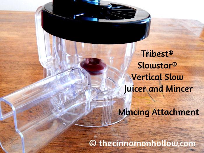Tribest Slowstar Vertical Slow Juicer Mincer