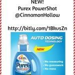New! Purex PowerShot Detergent. #purexinsiders #sponsored #giveaway