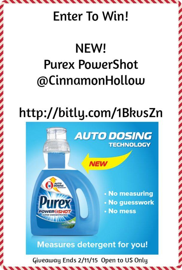 New! Purex PowerShot Detergent. #purexinsiders #sponsored #giveaway