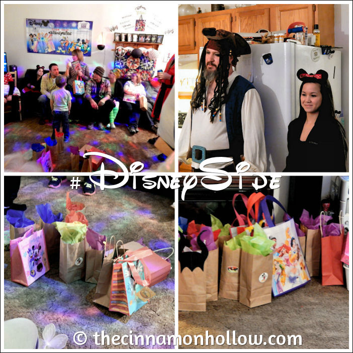 Games and Guests #DisneySide @Home Celebration