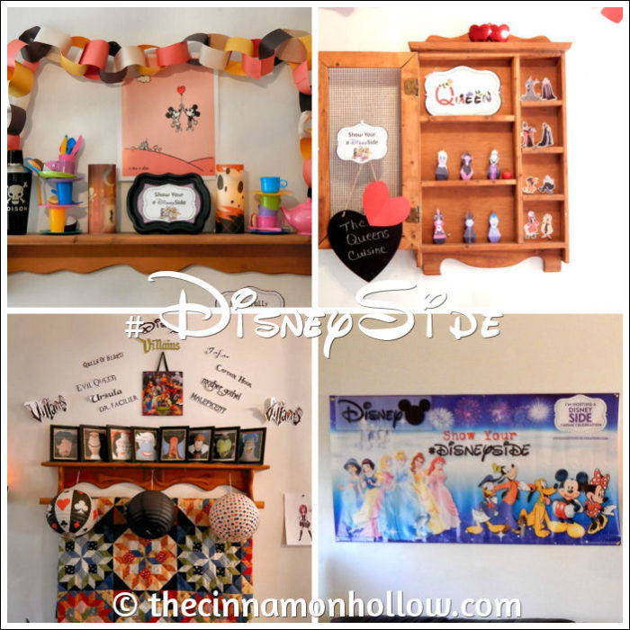 #DisneySide @Home Celebration Party Decor
