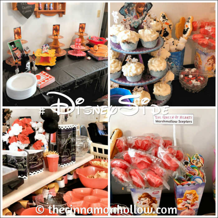 Food Collage #DisneySide @Home Celebration