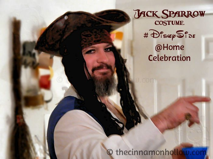 Captain Jack Sparrow #DisneySide @Home Celebration