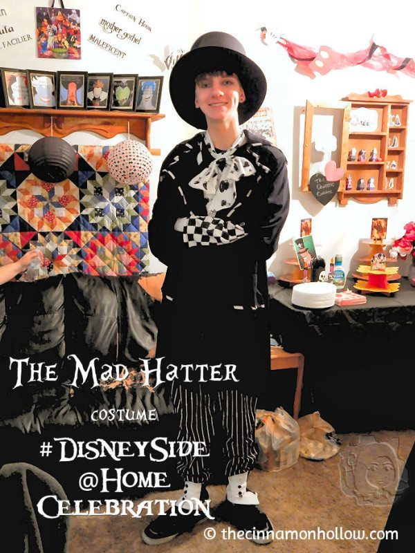 The Mad Hatter #DisneySide @Home Celebration