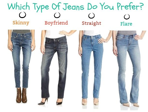 Which Type Of Jeans Do You Prefer?