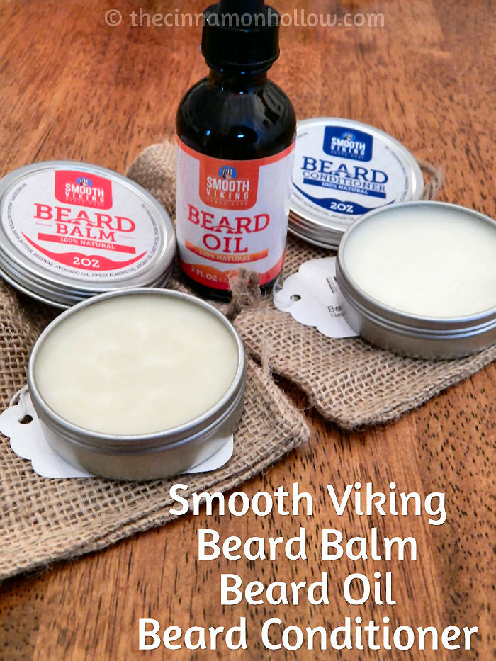 Smooth Viking Beard OIl, Balm & Conditioner