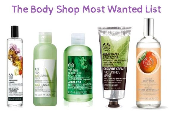 The Body Shop Best Sellers and Most Wanted – Today Only