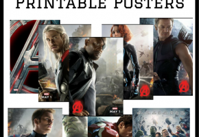 AVENGERS- AGE OF ULTRON Printable