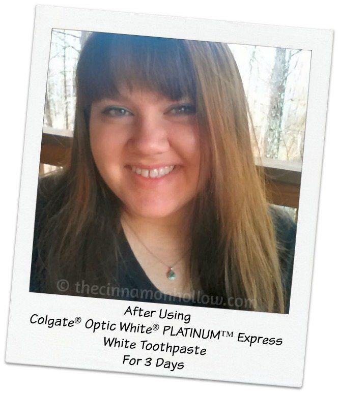 Colgate Optic White PLATINUM-Express White Toothpaste